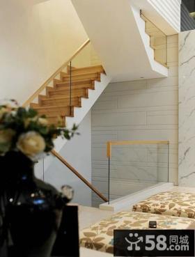 简约风格楼梯间设计