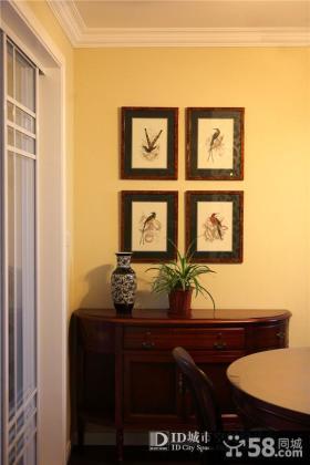 房屋墙面装饰画贴图