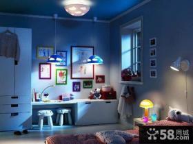 儿童卧室灯具效果图