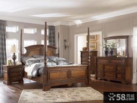 美式乡村风格卧室图