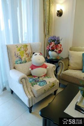 美式设计沙发图