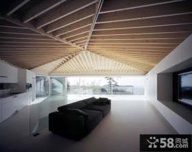 极致简约美式风格装修客厅图片