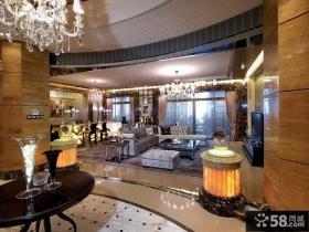 美式新古典风格室内装修图片