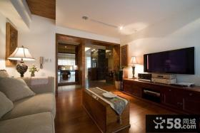 现代风格美式装修客厅设计