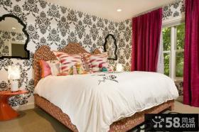 简约风格装修设计 简约风格婚房卧室装修效果图