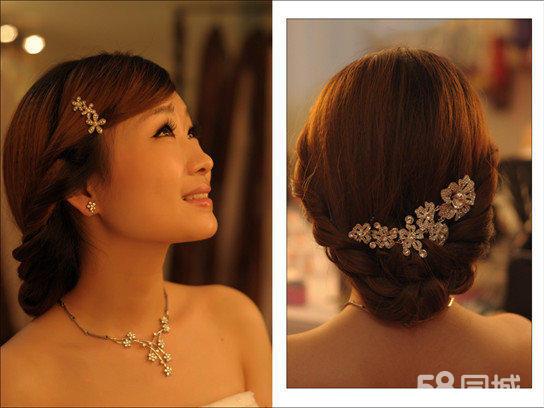 韩式婚礼婆婆发型