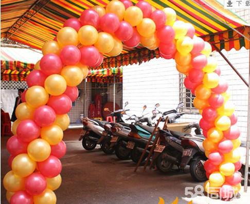 石家莊宇航氫氣球婚慶裝飾公司