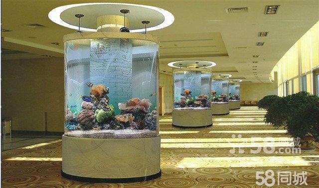 广州鱼缸订做.海鲜池免费设计定做 亚克力鱼缸订做