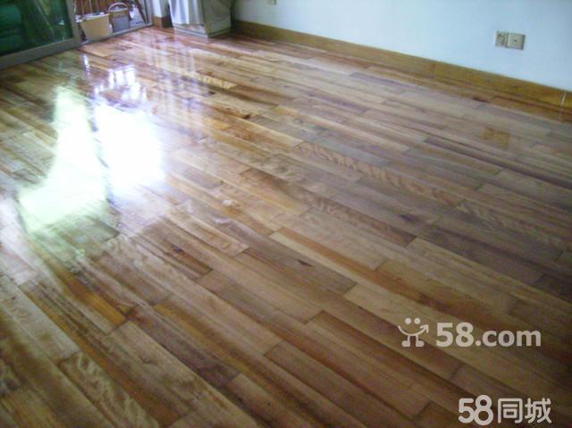 实木地板局部烂了维修;