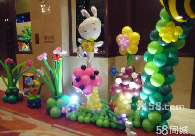 服装店店面设计气球分享展示
