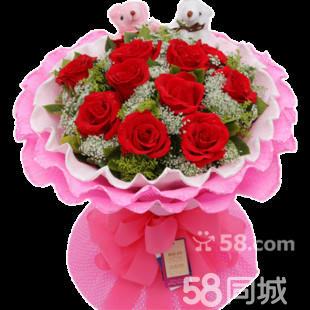 象征代表失恋和分手的黄玫瑰花卉