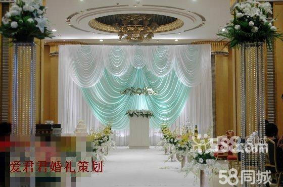 鲜花新款水晶路引8个,婚礼通道地毯(红色 白色 )典礼舞台地毯包台