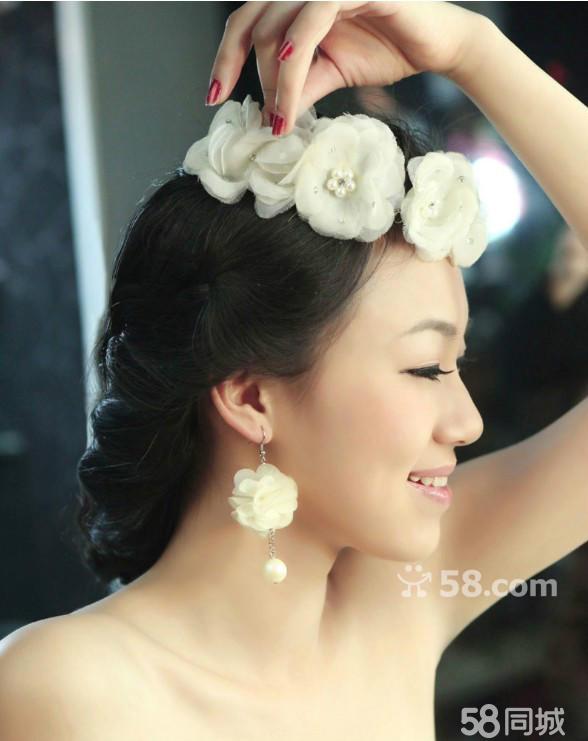 娟子打造新娘妆风格:中式新娘,欧式宫廷韩式新娘,西图片