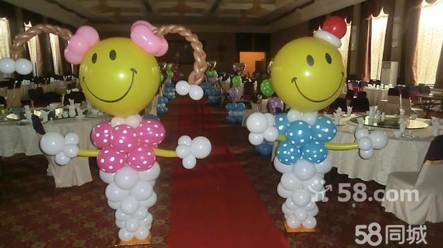 北京批发氦气球,婚礼气球造型制作