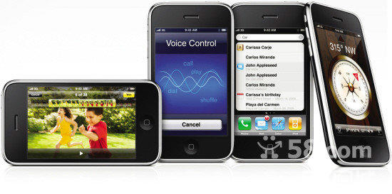 苹果4s手机结构