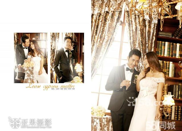 成都最好的婚纱摄影亚果摄影会所给你欧式风格