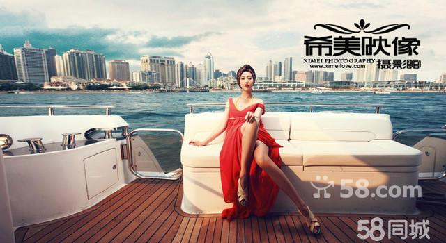 青岛婚纱摄影哪家好希美映像海景基地主题不限4880