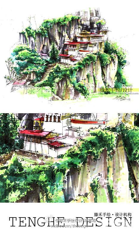 杭州建筑手绘培训