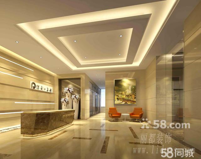 木地板形象墙设计