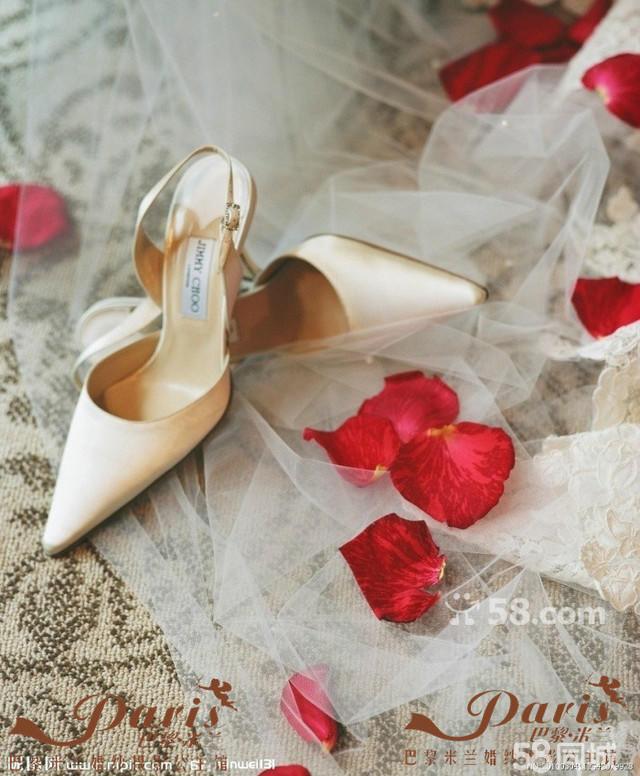欧式唯美梦幻婚鞋