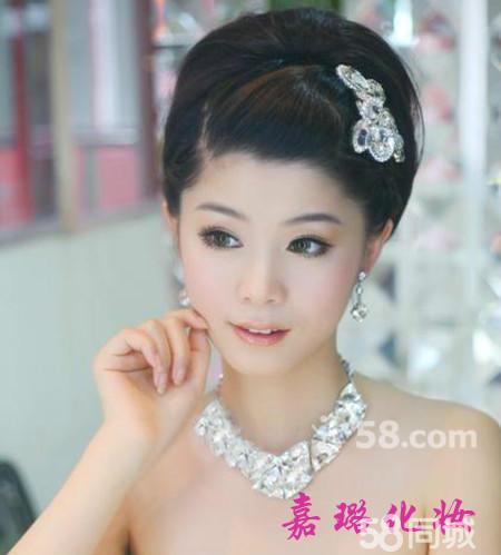 中式新娘发型的特点是怎样的?图片