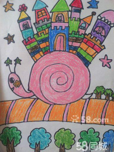 西稍门附儿童画卡通动漫儿童插画素描水粉