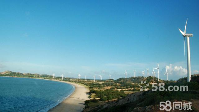 (五一)汕尾红海湾露营放孔明灯,美丽风车岛摄影
