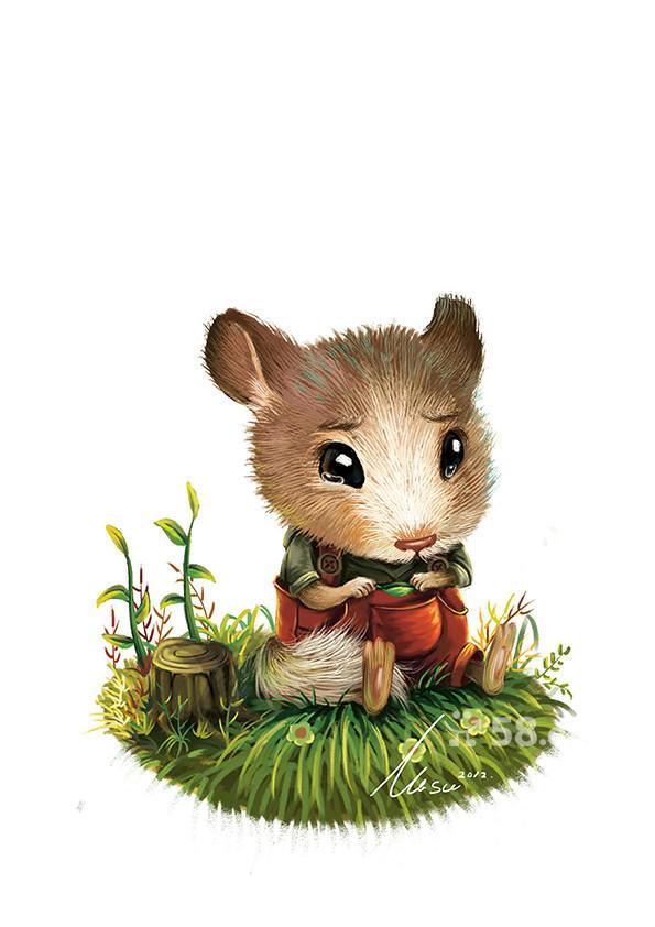 有意儿童插画创作经验和技法的职业插画师和艺术设计