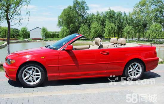宝马红色敞篷跑车图片及价格表 宝马wbadv310 红色敞篷报价查询
