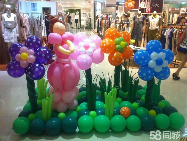 庆典会场气球造型设计制作; 商场,4s店,服装店节日气球装饰设计制作图片