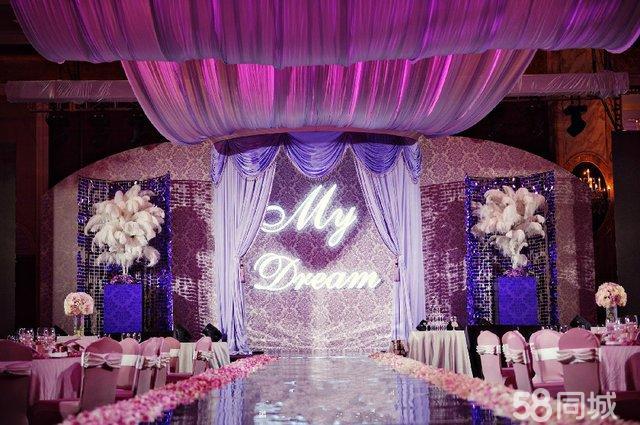 铭乐特推LED大屏高档主题婚礼--奢华品味低端