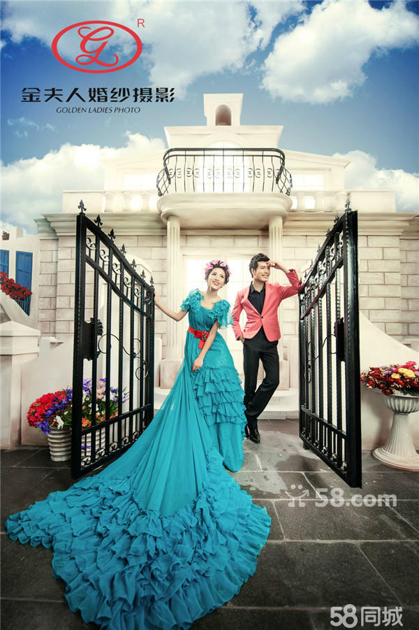 桂林婚纱摄影桂林金夫婚纱摄影于长尾婚纱