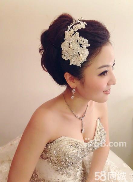 济南新娘跟妆,彩妆造型