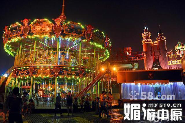 郑州世纪欢乐园夜场 郑州方特门票 郑州方特欢乐世界晚场图片