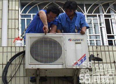 实测出风口温度低于15度为不制热,可能为补漏加氟,压缩机,或四通阀坏图片
