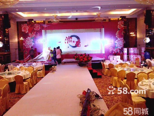 能够和自己的团队独自完成婚礼的场地布置以及灯光的安排,若有幸被贵