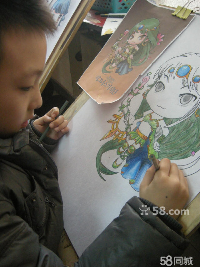 儿童简笔画 向日葵 黑白线描 简笔画