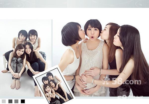 闺蜜三人照片可爱