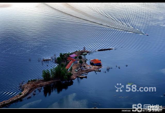 潘家口水库天水小筑农家院旅游吃住坐船一条龙