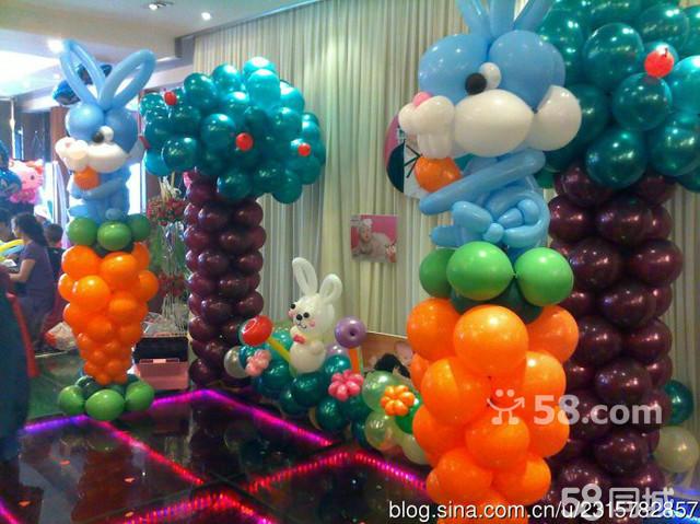 新房气球布置图片步骤