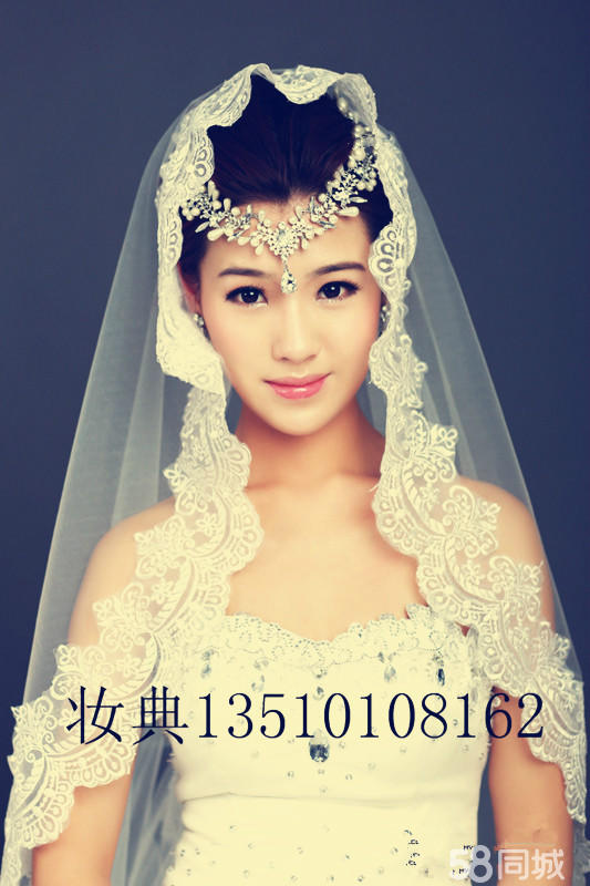 深圳新娘化妆造型跟妆图片
