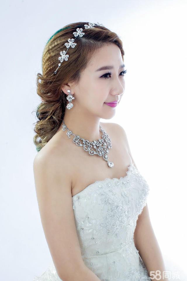 2014韩式新娘妆造型 2014韩式新娘妆面造型 最新韩式新娘-韩式新娘
