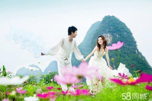 桂林第六感旅外景婚纱摄影