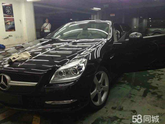 汽车贸易   私人奔驰slk350敞篷跑车宝马730li婚车服务   重庆高清图片