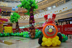 南通泡泡龙气球-近期宝宝宴及商场现场照