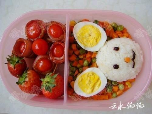 儿童便当菜谱